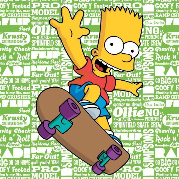 d3684f64d0a Polštářek Simpsons Bart 2016 40x40 cm