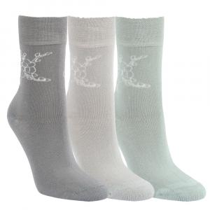 f4b39c09da2 Dámské zdravotní bavlněné ponožky se vzorem RS - 3 páry Kód zboží  1197819  empty