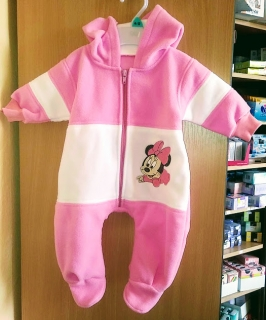 Overal fleece Minnie Vel. 62